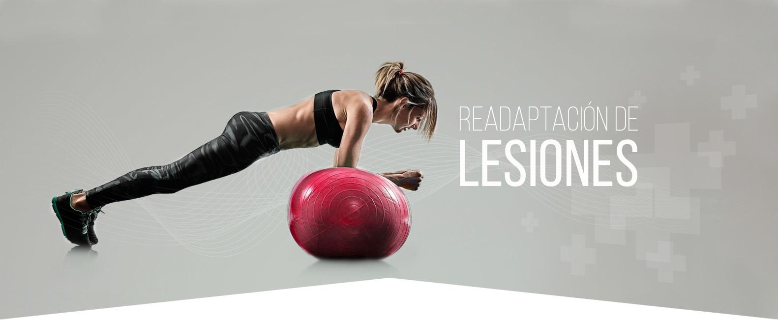 Readaptación de lesiones